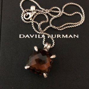David Yurman 20 mm chatelaine with diamonds